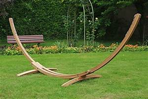 Structure Pour Hamac : structure hamac bois l 39 univers du jardin ~ Teatrodelosmanantiales.com Idées de Décoration