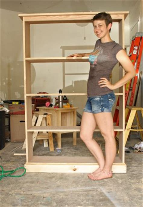 Free Bookcase Plans To Build by Build Bookcase Plans Build This Simple Pine Bookshelf With