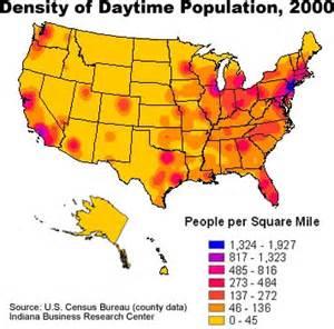 2015 Us Population Density Map