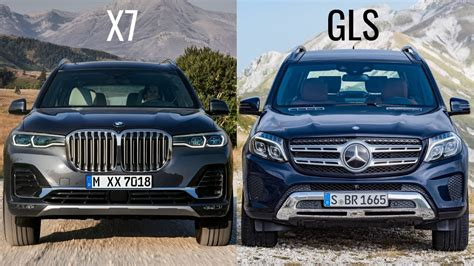 That's where the merc truly comes up short. 2019 BMW X7 vs Mercedes GLS - YouTube
