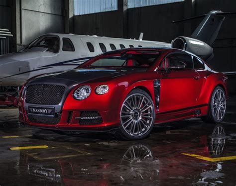 Bentley Continental Gt Mansory Sanguis Tuned