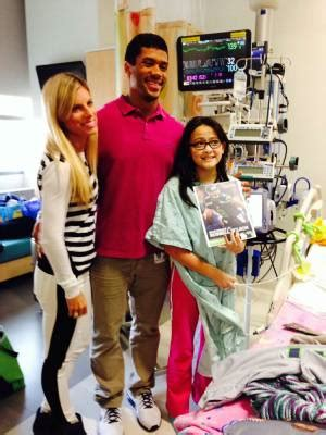 childrens hospital patient   russell wilson duct