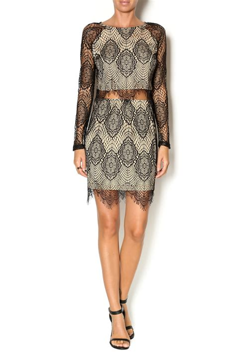 Cashmere Lace Two Piece Set From New York City Dor