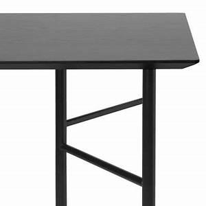 Tréteaux Pour Table : plateau de table pour tr teaux ming large 160 x 90 cm plateau noir ferm living ~ Melissatoandfro.com Idées de Décoration
