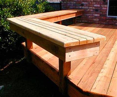 Deck Bench Design by Best Deck Benches Design Ideas