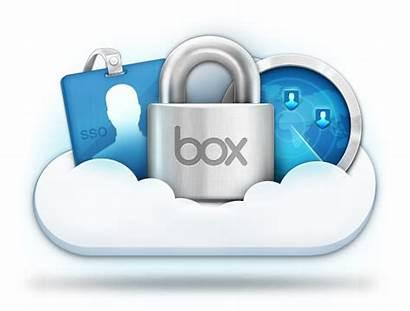 Security Icon Transparent Box Storage Icons Cloud