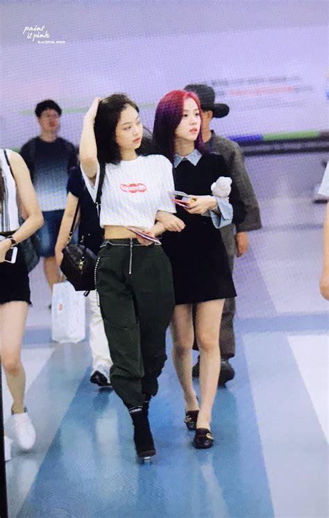 blackpinks airport fashion allkpop forums