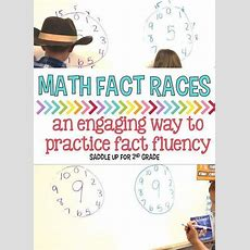 Math Fact Fluency Races  Classroom, Facts And Math Facts
