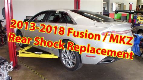 lincoln mkz ford fusion rear shock replacement