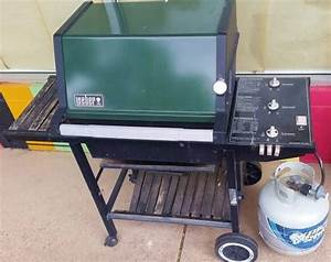 Weber Grill Zubehör Gasgrill : green vintage weber gas grill weber grills pinterest green vintage and weber gas grills ~ Frokenaadalensverden.com Haus und Dekorationen