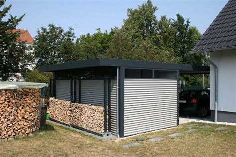 carport deutschland design metall carport aus stahl blech mit abstellraum