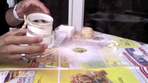 photophore pot de yaourt tuto arts cr 233 atifs faire un photophore avec un pot de yaourt