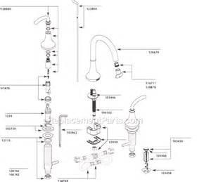 moen faucet parts diagram images