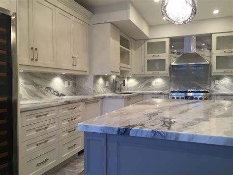 backsplash kitchen mont blanc quartzite kitchen and backsplash
