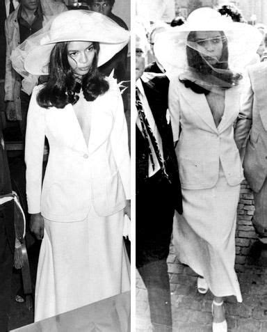 Dress Mick the 30 most iconic wedding dresses jagger as