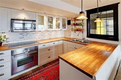backsplash ideas for small kitchens 47 brick kitchen design ideas tile backsplash accent