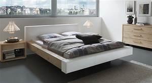 Massivholzbett Weiß 180x200 : wildeiche bett mit modernem kunstleder bett mataro ~ Sanjose-hotels-ca.com Haus und Dekorationen