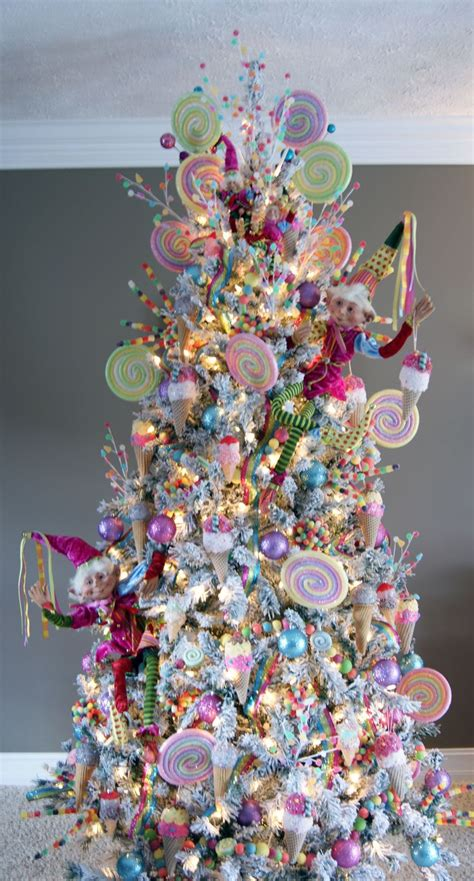 ideas  candy christmas trees  pinterest