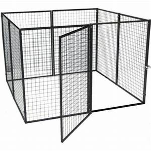 options plus bronze series 6 ft x 6 ft x 4 ft dog kennel With outside dog kennels home depot