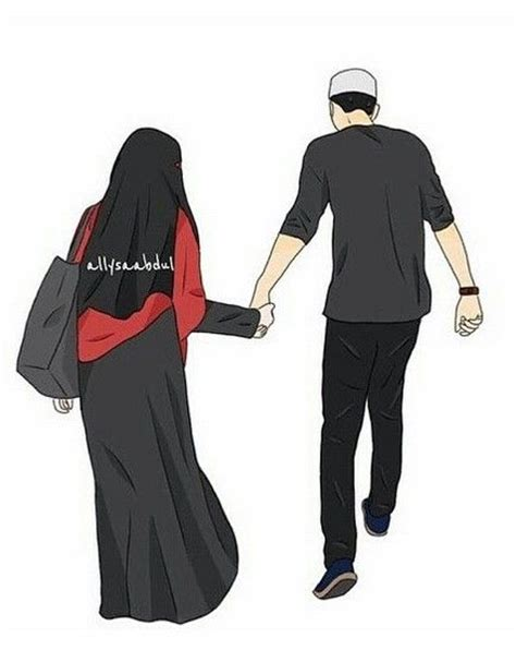 couple halal anime islam muslim muslimah pinterest