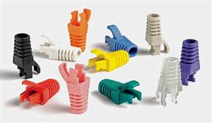 China Network Rj45 Rubber Pvc Modular Plug Cable Boot For