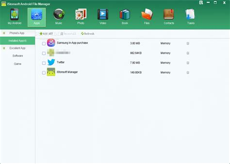 file manager for android phone istonsoft android file manager