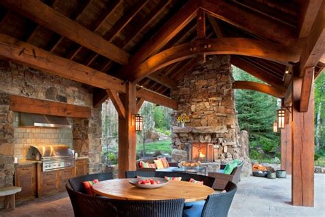 18 Startling Rustic Patio Designs To Enjoy The Nature Even