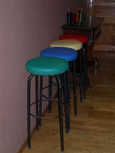 Tabouret Bar Vintage : tabouret rouge simili cuir offres avril clasf ~ Preciouscoupons.com Idées de Décoration