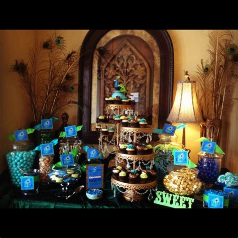 buy sweet 16 centerpiece peacock the world s catalog of ideas