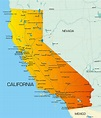Map of California - Guide of the World