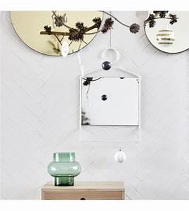 House Doctor Spiegel : housedoctor spiegel hang wit metaal glas 50x32x7cm ~ Whattoseeinmadrid.com Haus und Dekorationen