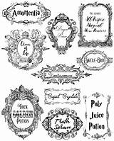 Potions Poisons Harry Potter Labels Printables Halloween Potion Bottle Printable Bottles Cut Clipart Personal Save Right sketch template