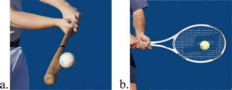 Stimuli. Visual stimuli depicting the (a) baseball task and (b) tennis...   Download Scientific ...
