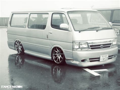 hiace vans stancenation form function