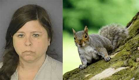 foto de Woman Busted For Training Squirrels to Attack Her Ex