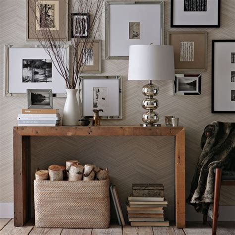 west elm entryway no fail objects for styling a console table centsational