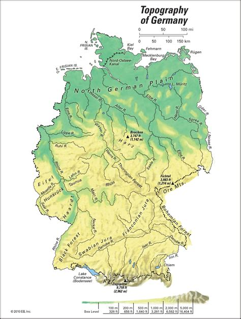 germany topography kids encyclopedia childrens
