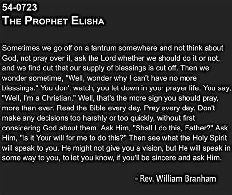 quote   day vog william branham read  bible