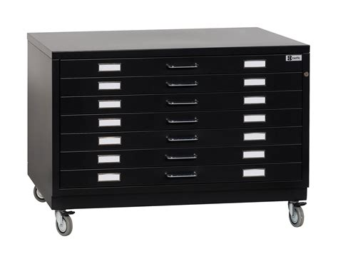 Save On Discount Bieffe Bf Line Flat File, 7 Drawers With Metal Top, Base With Wheels, Black Seven Drawer Dresser New Cabinet Doors And Fronts 3 Ikea Ring Pull Diaper Organizer Pretty Pulls Wooden Kitchen Plastic Bins