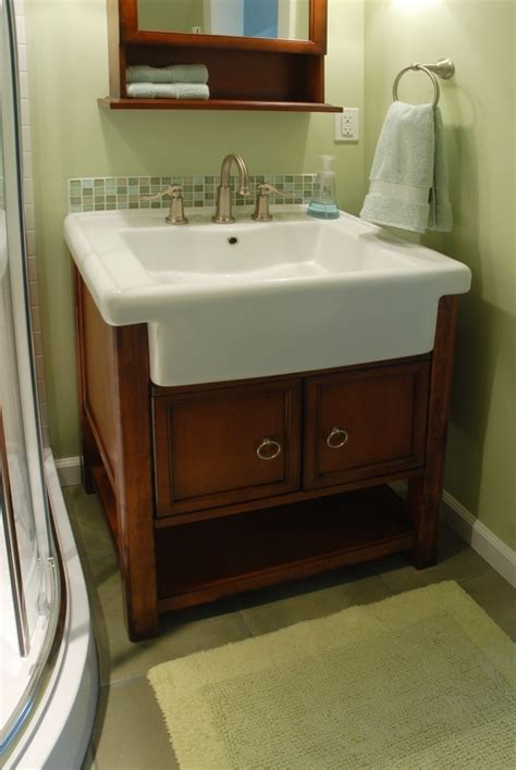 Bathroom Vanity Farmhouse Sink by Bathroom Farmhouse Vanity For Flaunt The Of Its