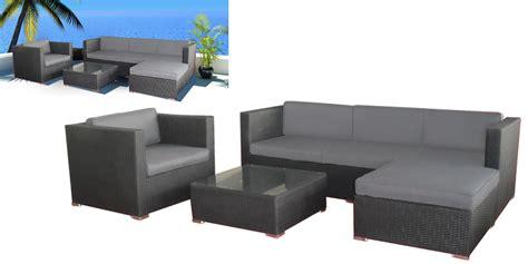 Salon De Jardin Absolut Lounge Gris Anthracite Oogarden