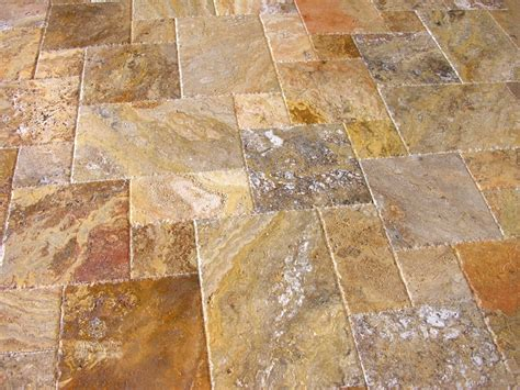 scabos travertine versailles pattern brushed chiseled ebay