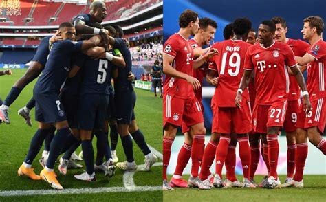 Now they can touch and kiss the such a sad sight. Definida la final de la Champions League 2020; PSG vs Bayern Múnich - Potosinoticias.com