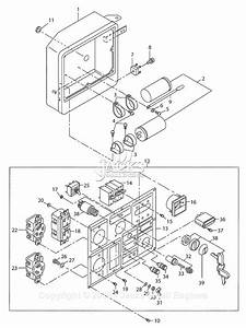 Robin  Subaru Rgd3300h Parts Diagram For Control Panel  Control Box