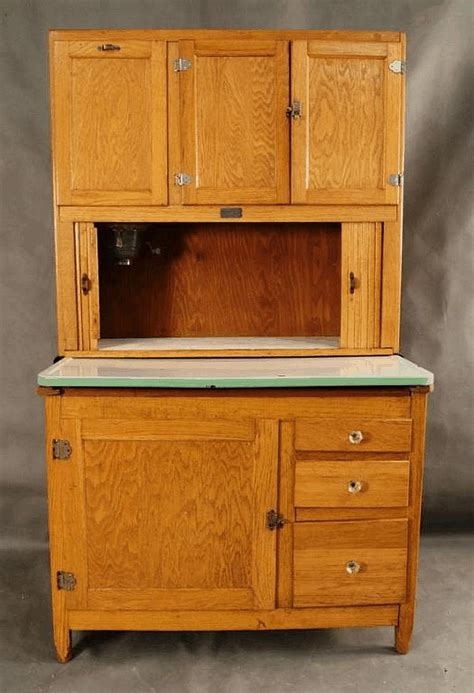 Sellers Hoosier Cabinet Value by Click For Sized Image