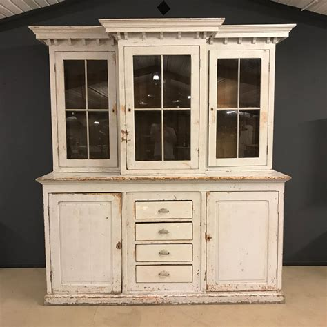 Large Buffet Cabinet by Large Antique Buffet Cabinet 19th Century For Sale
