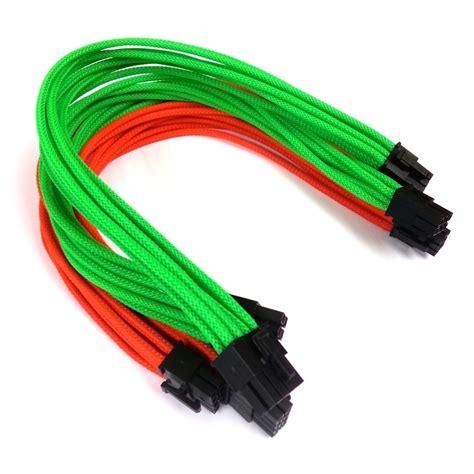 cooler master silent pro premium single sleeved pci  modular cables set  pack moddiycom