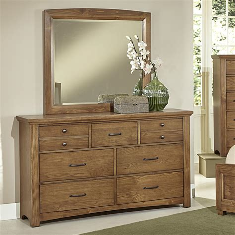 Vaughan Bassett Dresser With Mirror by Vaughan Bassett Transitions Dresser Landscape Mirror