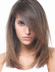 Coupe Longue Femme : coupe cheveux mi long parlez en votre coiffeur pour ~ Dallasstarsshop.com Idées de Décoration