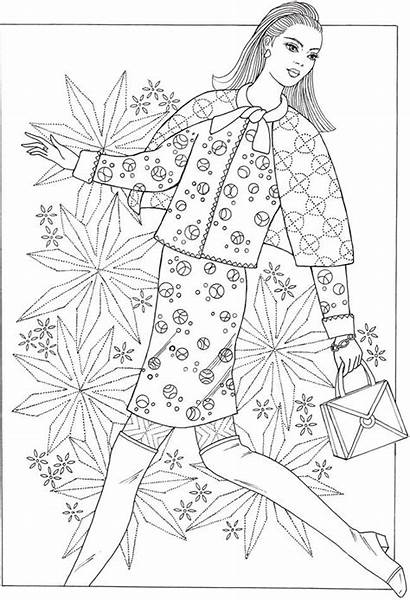 Coloring Pages 1960s Creative Dover Haven Adults